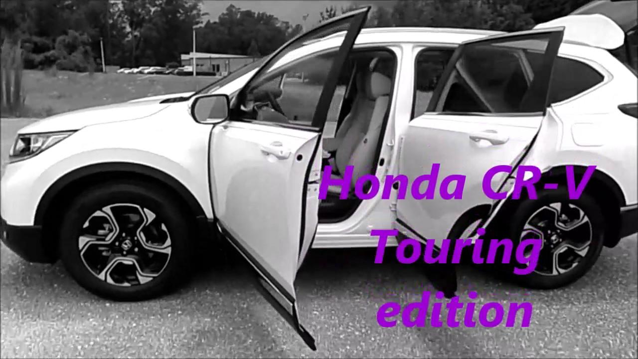 2017 CR V Touring White. Sunbelt Honda