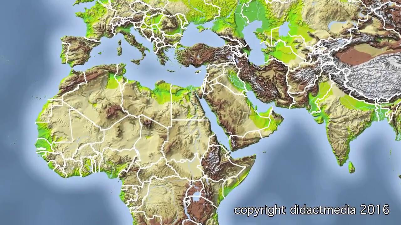 Karte Naher Osten Israel.Orient Und Geschichte Der Konflikte Naher Osten