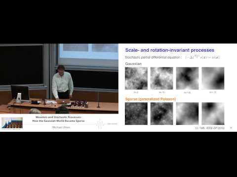 Michael Unser: Wavelets and stochastic processes: how the Gaussian world became sparse