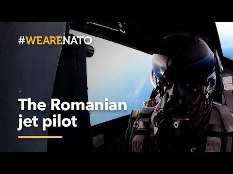 The Romanian Jet Pilot - #WeAreNATO