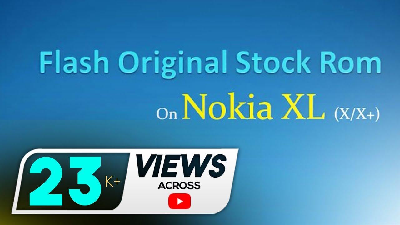 Flash Original Stock Rom on Nokia XL/X2 DS (X/X+) using NX Flasher - Full tutorial