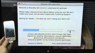 Скачать BEST IPhone 4S Jailbreak IOS 5 Absinthe Greenpois0n Video Instructions Walkthrough