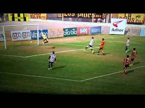 Mitre 1 vs central Córdoba 1 gol Mateo bustos