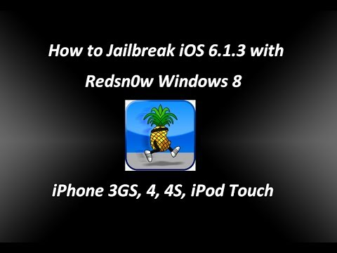 how to jailbreak an iphone 6 how to jailbreak ios 6 1 3 with redsn0w windows 8 iphone 18894