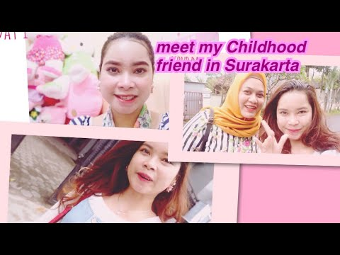 #BAVLOG6 || meet my childhood friend + having face treatment in Larissa Aesthetic at Solo, Indonesia