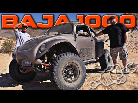 BAJA 1000 the Fogg Motorsports RZR Bug Conversion