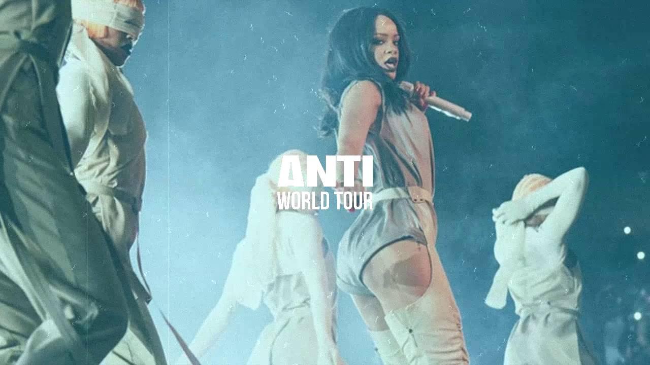 Rihanna Birthday Cake Anti World Tour Studio Version Youtube