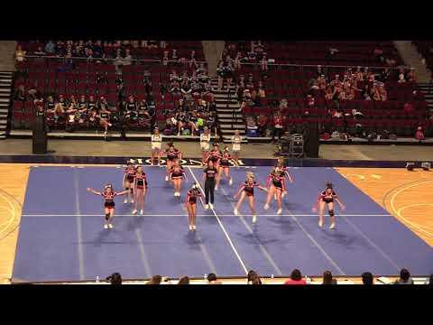2018 State Cheerleading Championships Wiscasset Wolverines