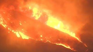 שריפה שריפת ענק צפון קליפורניה פרדייס