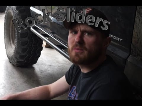 Jeep Cherokee XJ DIY Rock Slider Rub Rails