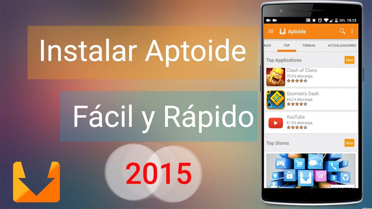 Descargar e Instalar Aptoide en Android en Español Ultima Versión  #Smartphone #Android