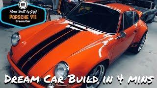 Home Built DIY Dream Porsche 911 in 4 minutes