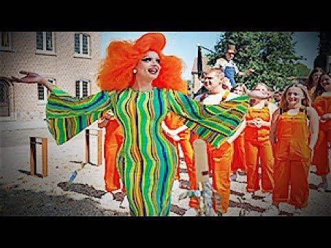 DRAG QUEEN SHOOTING FOR BELGIUM TELEVISION één Iedereen Beroemd