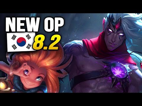 10 New OP Builds and Champions in Korea Patch 8.2 SO FAR (League of Legends)