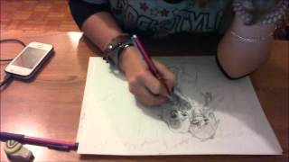 Speed Drawing   Jeff And Jane The Killer