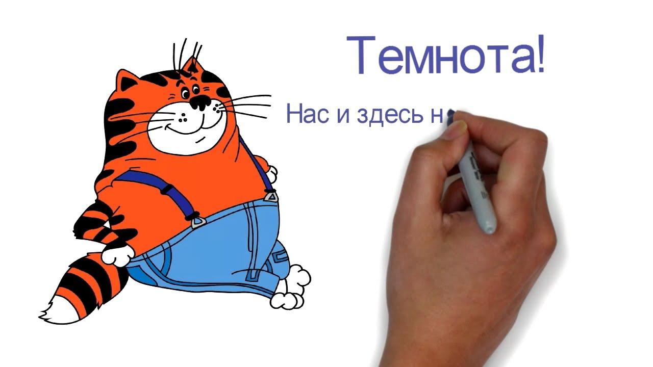 Кот в мультфильме про попугая кешу