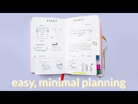 Neat, Practical Planning Without the Fuss · 7 Simple Planner//Journal Tips and Elements