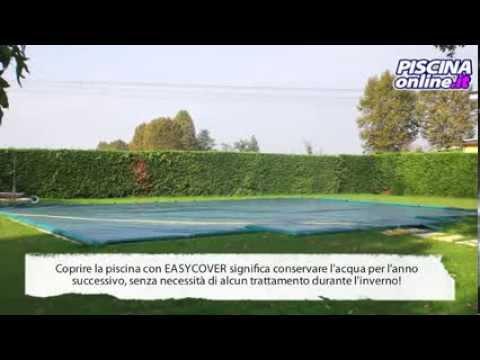 Chiusura e copertura con telo invernale per piscina youtube - Chiusura invernale piscina ...