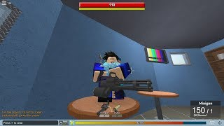 [Info in Description] Is the Minigun really worth your money? | Roblox [Showcase #2]