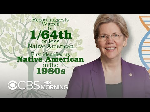 Cherokee Nation Calls Elizabeth Warren's DNA Test