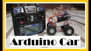 How to Make Radio Controlled Arduino Car with FS-iA6 and L298N Motor Driver Board
