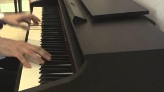 أغنية المسلسل الكرتوني عهد الأصدقاء - عزف على البيانو