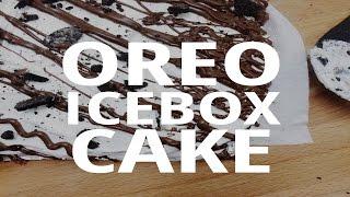 No- Bake Oreo Icebox Cake