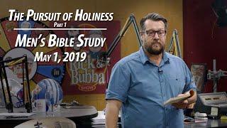 Men's Bible Study  -  May 1, 2019