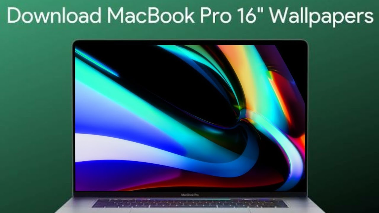 Macbook Pro 16 Inch Stock Wallpapers 4k Resolution With Download Link Youtube