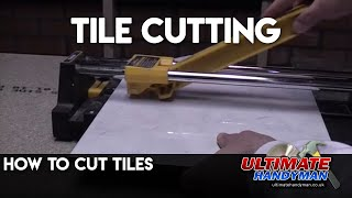 How to cut tiles - tile cutting
