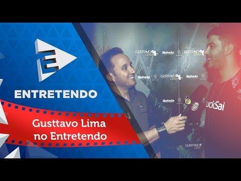 Rafael Arruda entrevistou o Gusttavo Lima