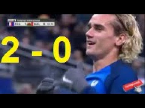 Франция - Уэльс 2:0 видео