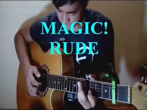 Guitar guitar tabs on screen : Vote No on : Rude Magic (fingerstyle guitar)