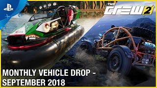 The Crew 2 - September Vehicle Drop Trailer | PS4