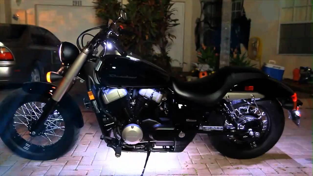 My 2010 Honda Shadow Phantom 750 Cruiser   YouTube