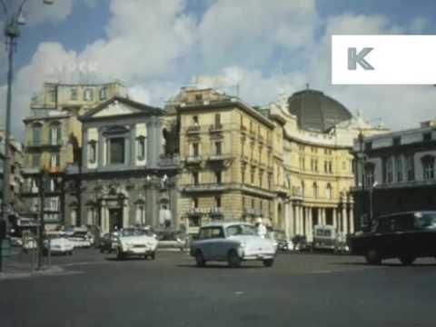1960s Naples, Italy, Street Scenes - YouTube