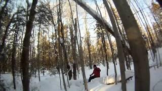 Ride de raquette 14 Janvier 2012