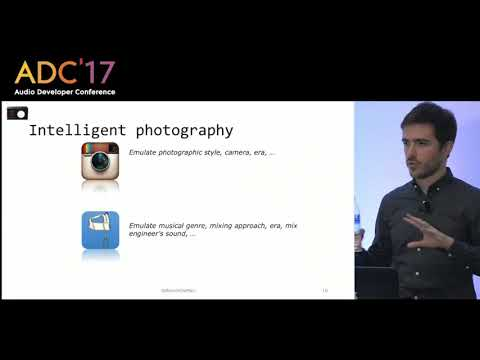 Brecht De Man - Rethinking the Music Production Workflow ADC'17