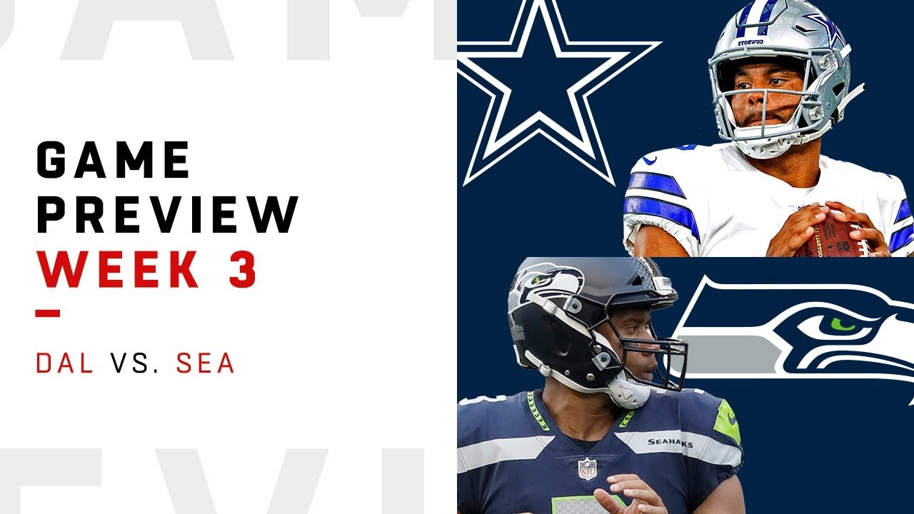 half off c180b 4061a Dallas Cowboys vs. Seattle Seahawks | Week 3 Game Preview | NFL Film Review