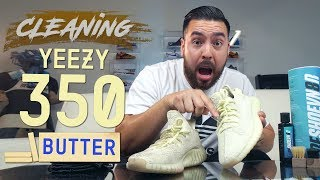 How to Clean Stained Yeezy 350 V2