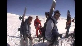Обучение сноубордингу. Фрирайд. Правила поведения