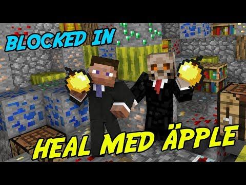 FÅ LIV MED GULDÄPPLE   Minecraft Blocked in Combat