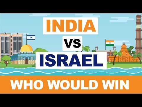 INDIA Vs ISRAEL Comparison - Who Would Win | India Israel Military