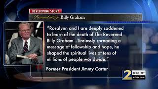 President Jimmy Carter remembers Rev. Billy Graham