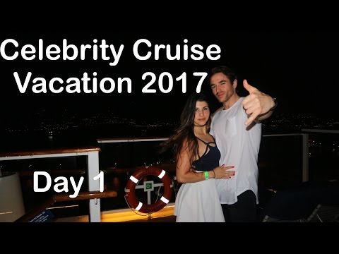 Celebrity Equinox 2017 Vacation Carribean Cruise  -Day 1