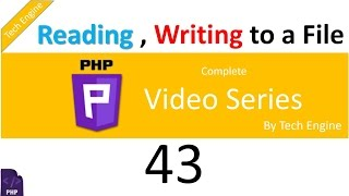 coding in php (Hindi) - 42. How to read and write to a txt file.