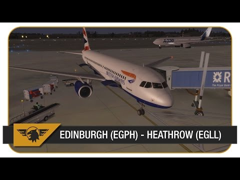 [Prepar3D] Blackbox Airbus A320 | Edinburgh (EGPH) - Heathrow (EGLL) | VATSIM | ATC