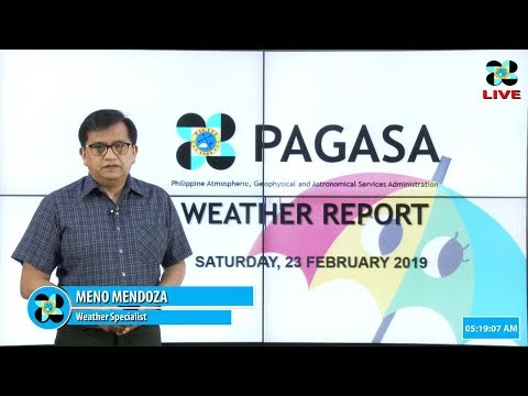 Public Weather Forecast Issued at 4:00 AM February 23, 2019