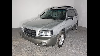 Subaru Forester XS AWD Wagon Manual 2004 Review For Sale