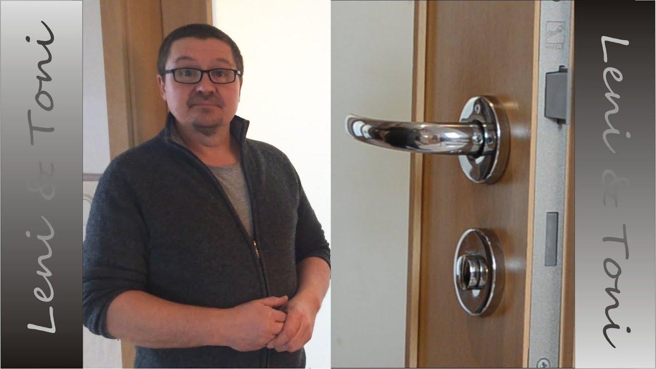 Leni Toni Home Austausch Eines Kaputten Zimmerturschlosses Youtube